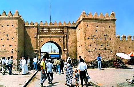 Entrance to the walled city, Oujda, Morocco