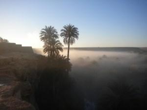 Merzouga in the mist, Morocco