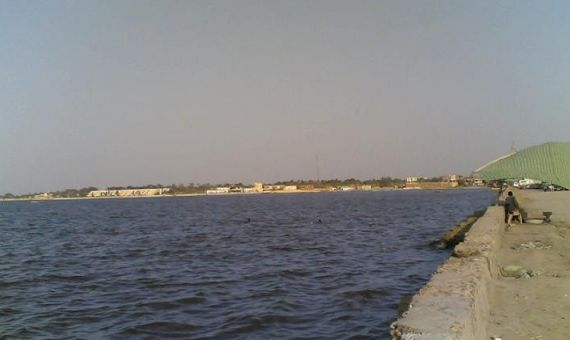 Lake Qarun in Egypt, Faiyun Province