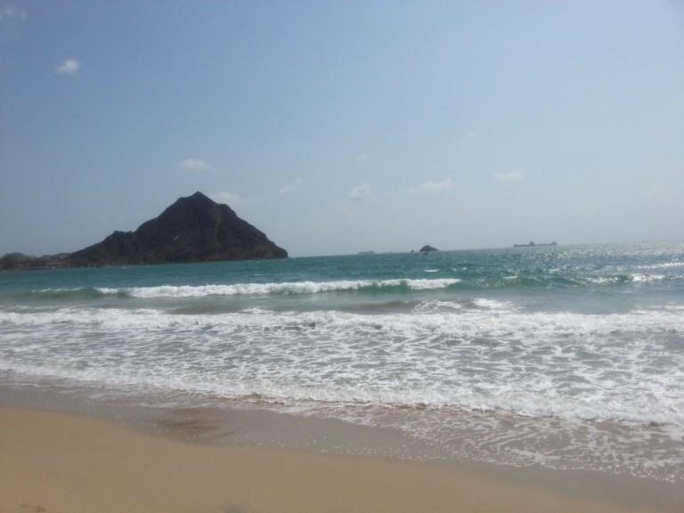 Kuud AlNamer Beach in Aden, Yemen