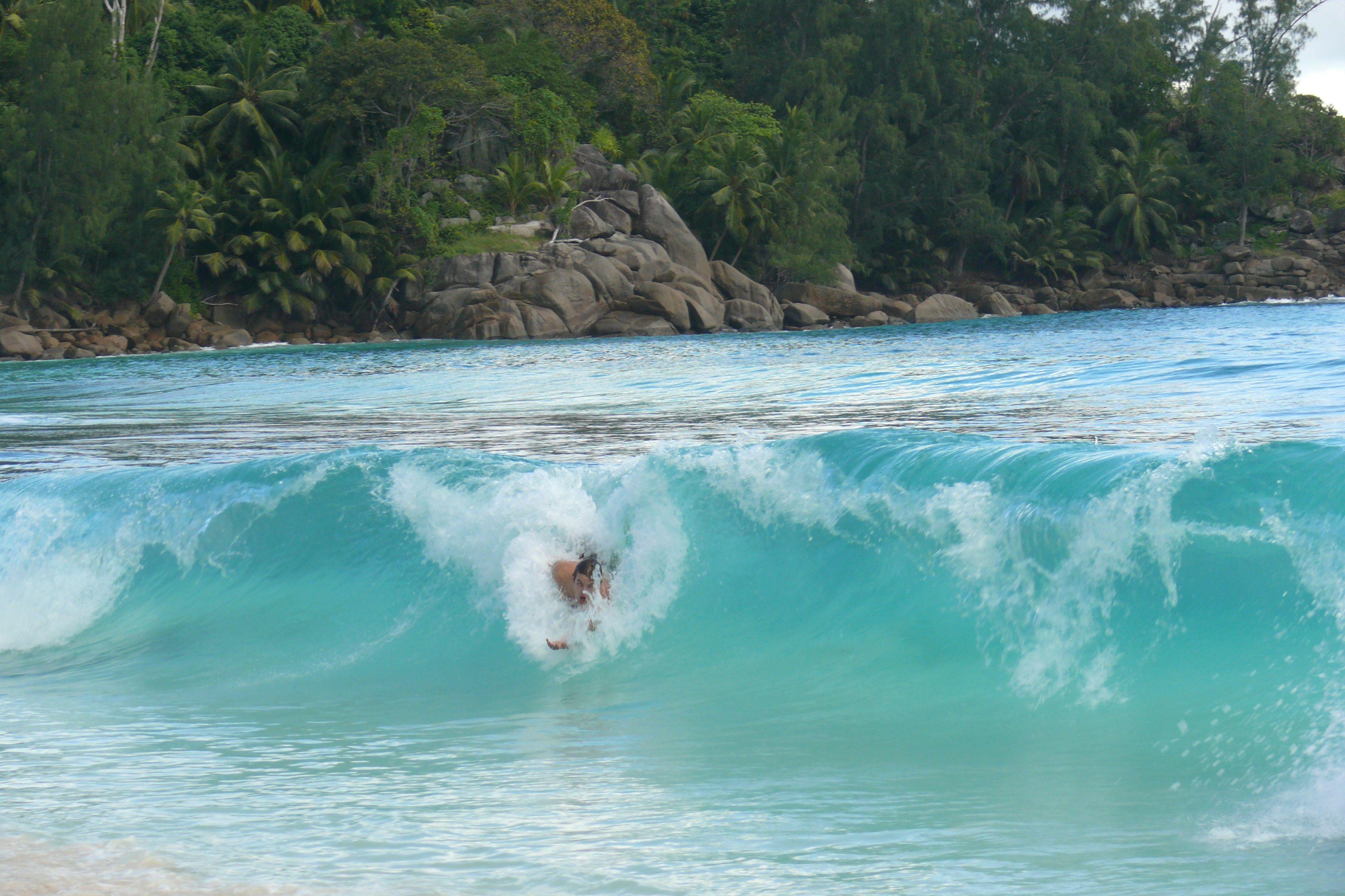 seychelles surf  Castles Made of Sand