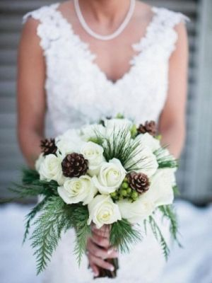 Winter Bridal Bouquet Ideas