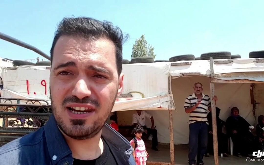 تجربة مؤسسة عامل الدولية في اغاثة اللاجئين السوريين في مخيم مرج الخوخ في جنوب لبنان
