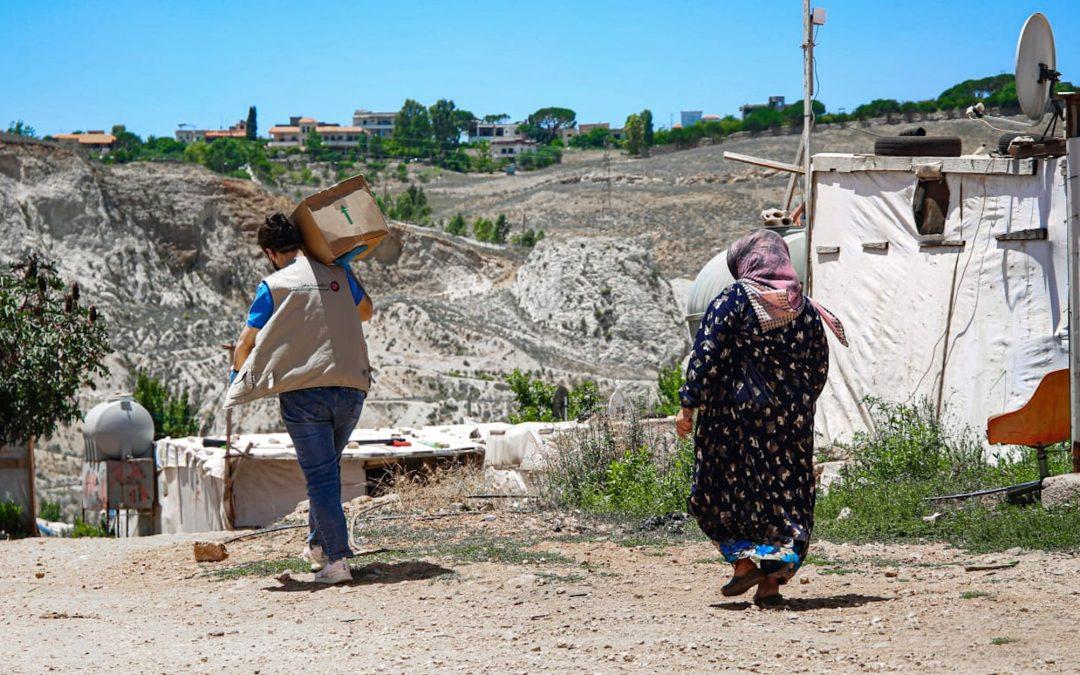 """برنامج الأمن الغذائي في """"عامل"""" يستمر بتوفير المساعدات في المناطق الشعبية"""