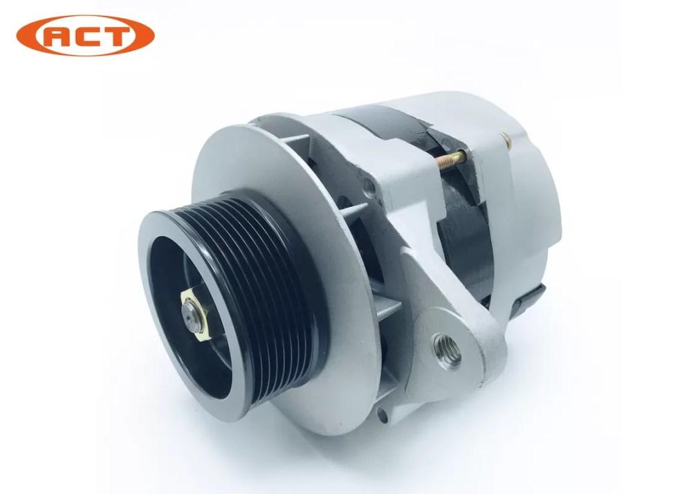 medium resolution of 25026006 25026006c excavator alternator 24v 60a for daewoo delco ford
