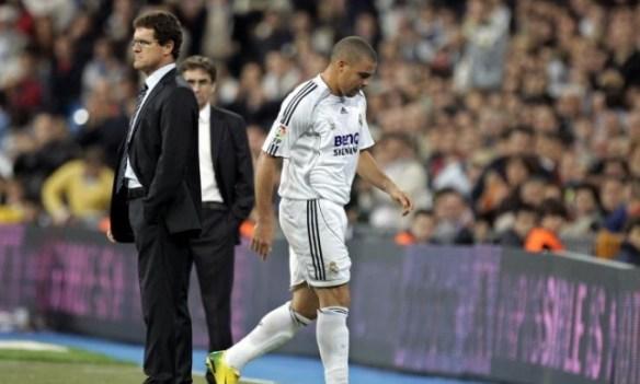 كابيلو يرد على رونالدو: أنت سبب رحيلك عن ريال مدريد - سبورت 360