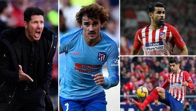 أخبار أتلتيكو مدريد هل يغامر سيميوني بإشراك 3 رؤوس حربة ضد