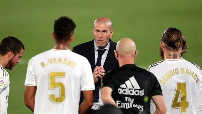 Zinedine Zidane - Real Madrid - La Liga