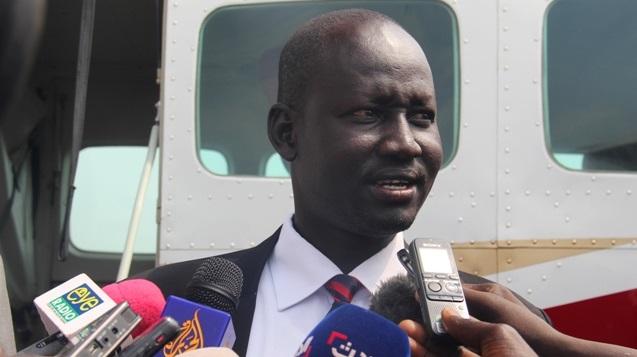 متحدث باسم جيش جنوب السودان لول روي كوانق (صورة ارشيفية)