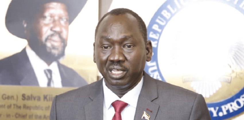 وزير الاستثمار بجنوب السودان ضيو مطوك دينق [صورة أرشيفية]