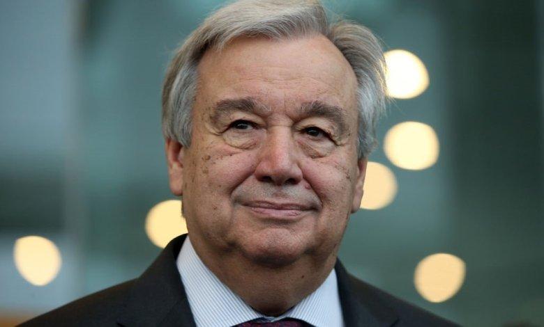 الأمين العام للأمم المتحدة أنطونيو غوتيريش [تصوير فيونا جودال/جيتي إيماجيس]
