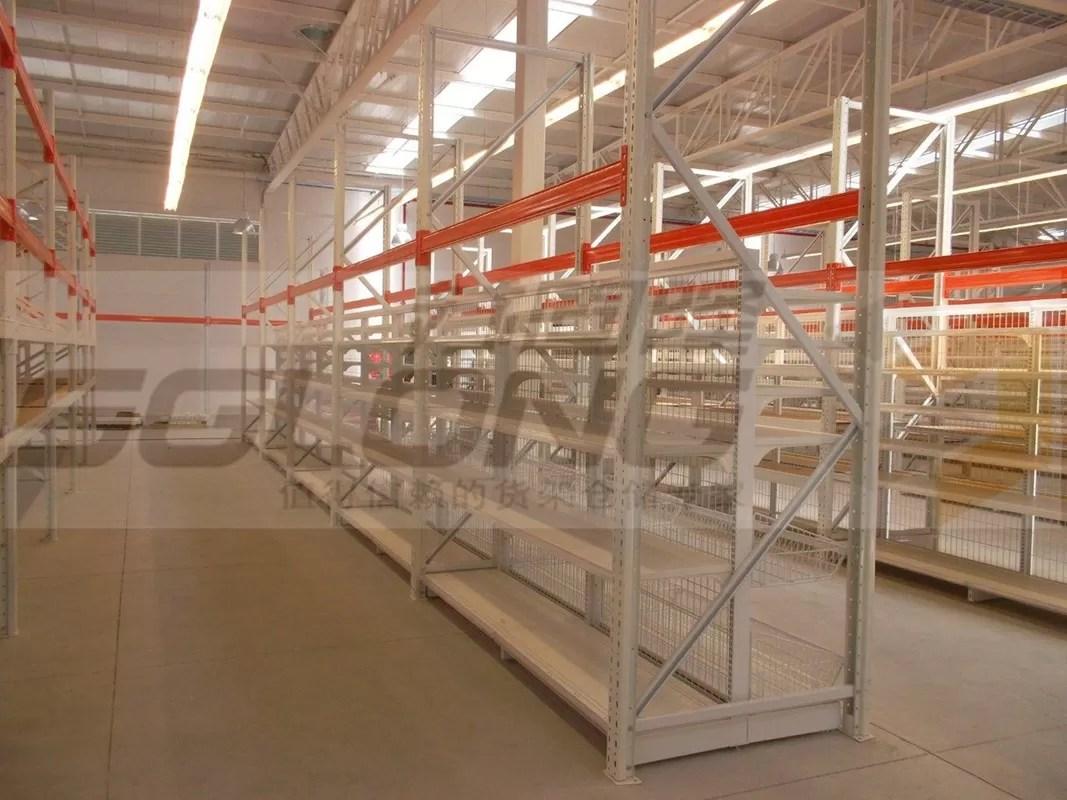 Industrial Storage Racks Heavy Duty Metal Shelving U Shape