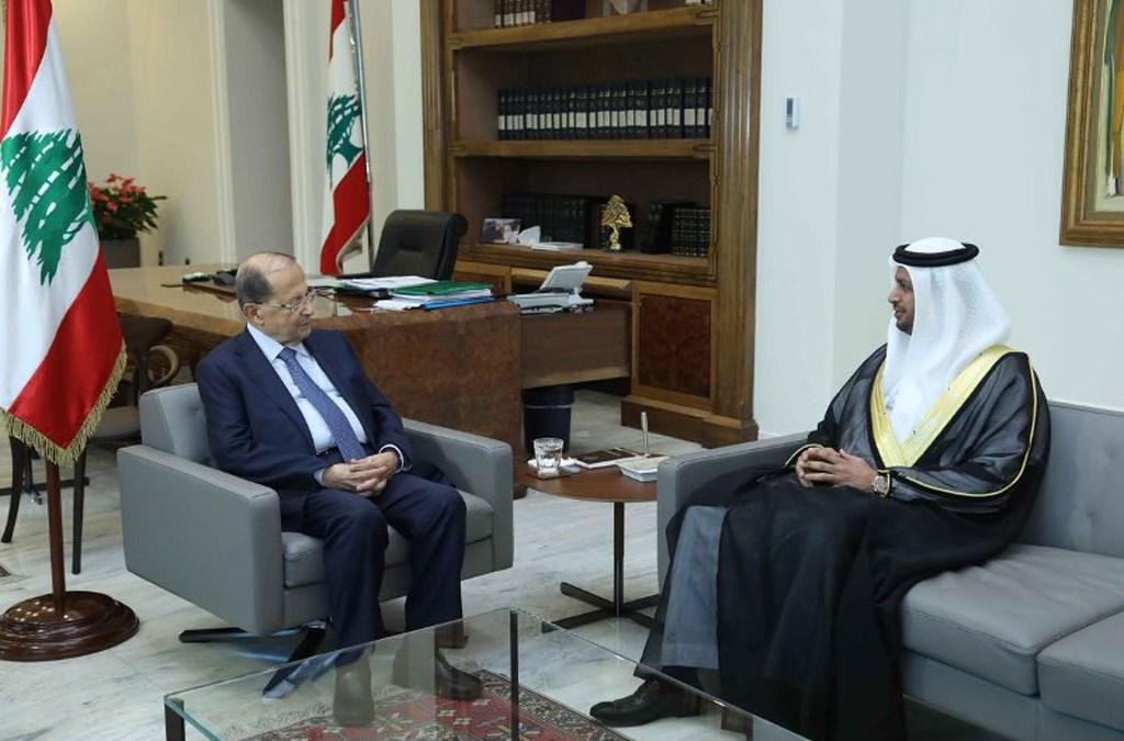 الشامسي من قصر بعبدا: الامارات تدعم استقرار لبنان وسيادته ومسيرة النهوض فيه