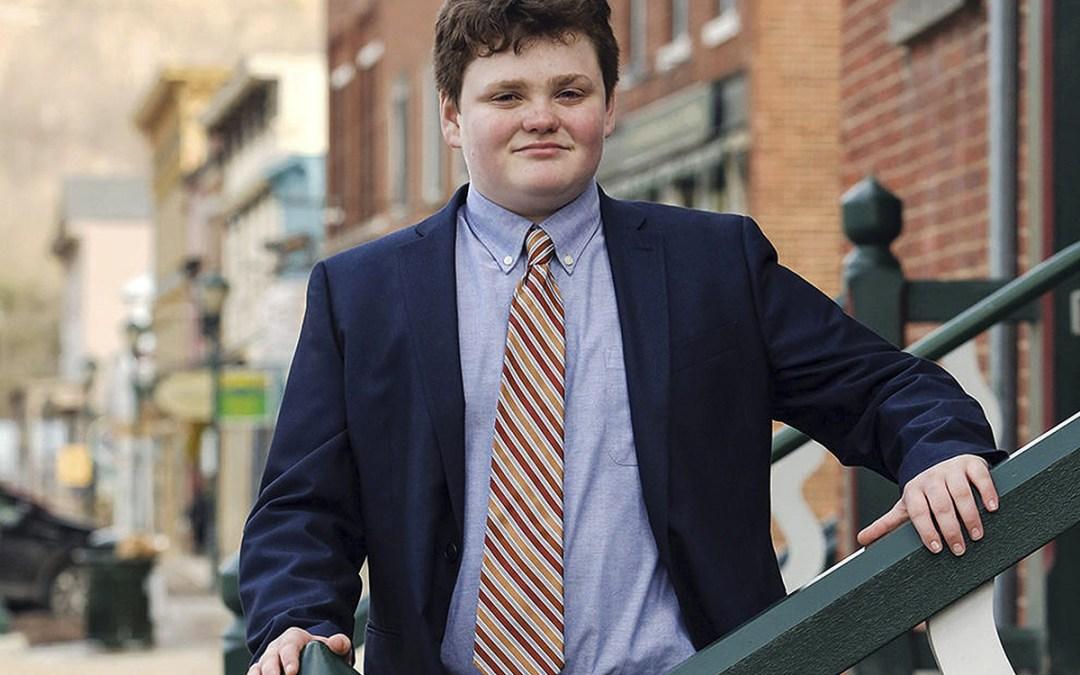فتى عمره 14 عاماً يترشّح لمنصب حاكم ولاية فيرمونت الأميركية