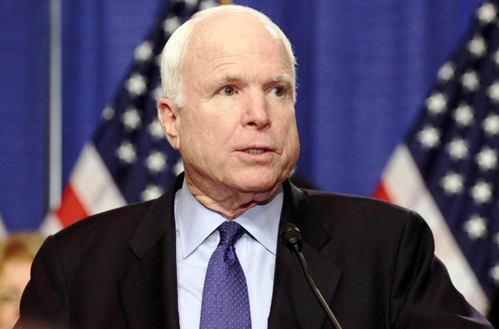 وفاة السناتور الأميركي جون ماكين عن 81 عاما