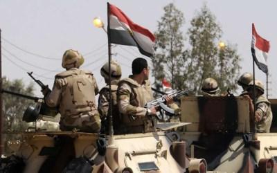 الجيش المصري يعلن مقتل 46 إرهابيا بشمال سيناء و3 جنود خلال اشتباكات