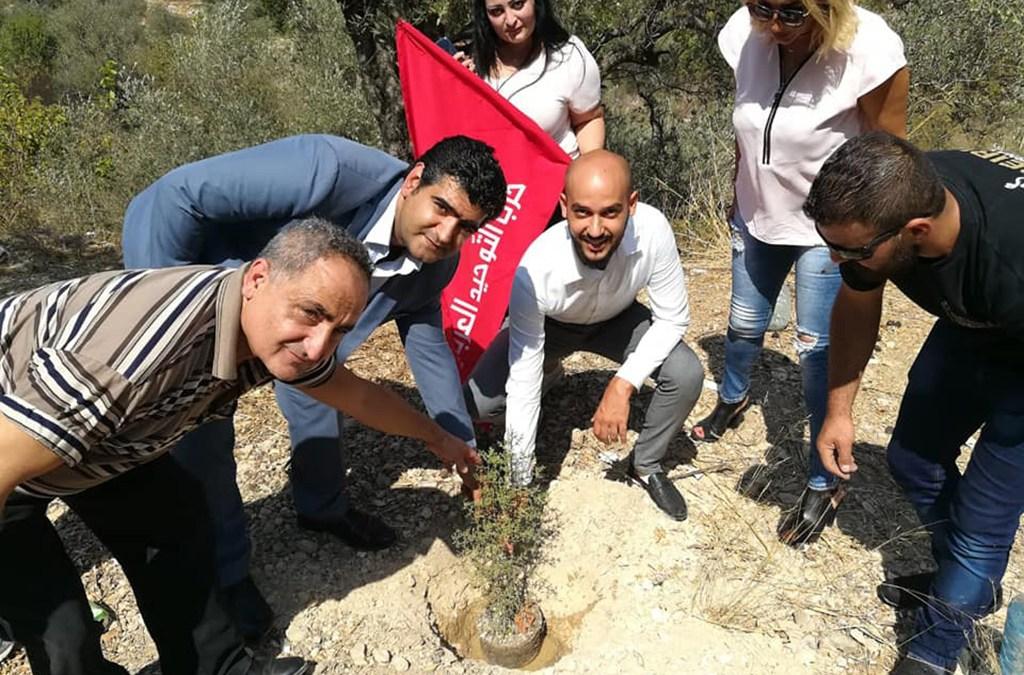 مفوضية عينبال في حزب التوحيد العربي نظّمت يوماً بيئياً