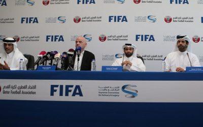 """رئيس """"الفيفا"""": نبحث تقاسم حق استضافة مونديال 2022"""
