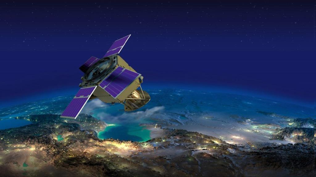 الامارات اطلقت القمر الصناعي خليفة سات من اليابان