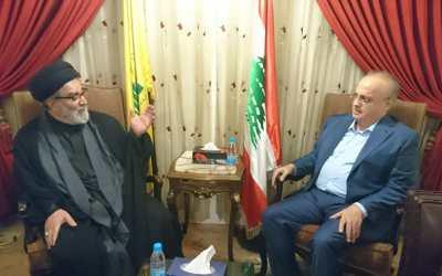 وهاب زار سماحة السيد ابراهيم أمين السيد وعرض معه الأوضاع على الساحتين المحلية والإقليمية