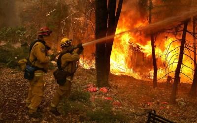 إرتفاع حصيلة أكبر حريق في كاليفورنيا الى 81 قتيلا