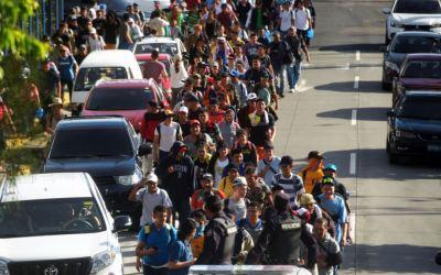 المكسيك توقف 791 مهاجراً بينهم 368 طفلاً دون الثامنة من العمر
