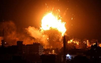 الاحتلال الصهيوني يستهدف نقطة للمقاومة شمال غزة