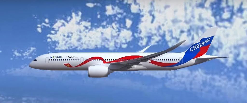 """طائرة روسية صينية ستنافس""""إيرباص"""" و""""بوينغ"""""""