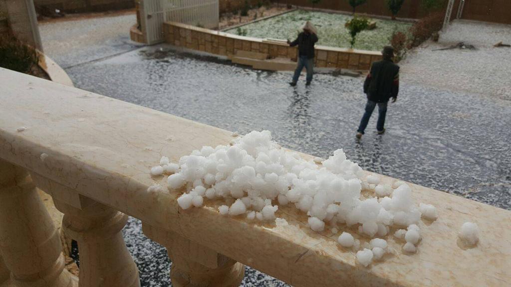 الطقس غدا الخميس ماطر الى عاصف والثلوج على 1200