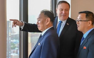 بومبيو أمل في إرسال مفاوضين إلى بيونغ يانغ في الأسابيع المقبلة