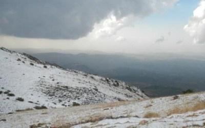 الطرق الجبلية سالكة باستثناء طريق عيناتا الارز