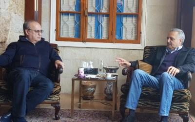 وهاب زار إرسلان وعرض معه الأوضاع العامة والوضع في الجبل