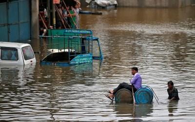 فيضانات الهند تسقط قتلى وتشرد الآلاف