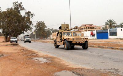 هل تم اقتحام مقر الداخلية الليبية؟