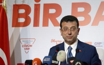 إمام أوغلو يطالب اللجنة الانتخابية بإعلان فوزه وتنصيبه عمدة لاسطنبول