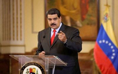 مادورو هدد بالرد على تشكيل بوغوتا وحدة من القوات الخاصة لمحاربة مهرّبي مخّدرات