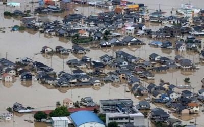 الفيضانات تواصل اجتياح اليابان مخلفة دمارا وضحايا