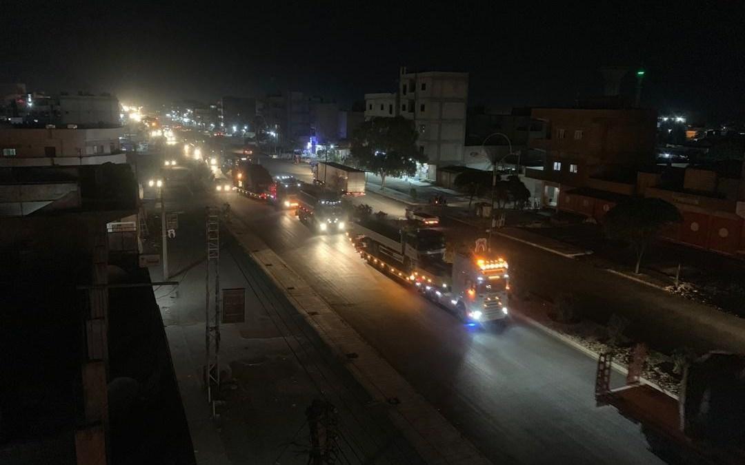 200 شاحنة للتحالف الأمريكي تدخل القامشلي، ماذا تحمل؟