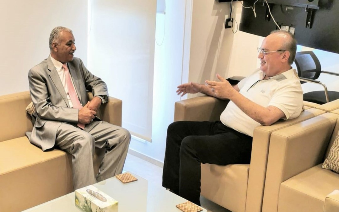 وهاب إستقبل السفير العراقي لدى لبنان الدكتور علي العامري مودعاً