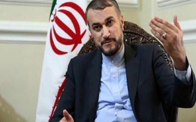 عبداللهيان: حكام السعودية يمهدون الطريق لتنفيذ مشاريع الكيان الصهيوني بالمنطقة