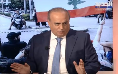 """وهاب لقناة """"الجديد"""": لا أسمح لنفسي بالمزايدة على """"حزب الله"""" في الموضوع الإسرائيلي أو الإرهاب لأنه صاحب الدم"""
