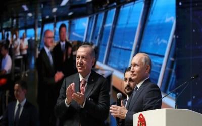 بوتين يزور تركيا لبحث ملفي ليبيا وسوريا وتدشين أنبوب غاز