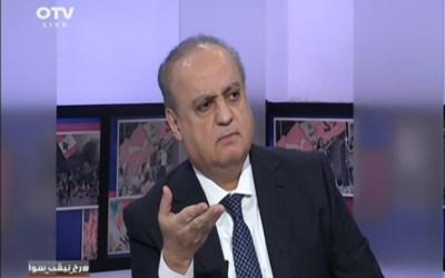 """وهاب لقناة الـ """"أو.تي.في"""": """"حزب الله"""" حيّد لبنان والرد الإيراني سيأتي تدريجياً والقوات الأميركية ستخرج من المنطقة في أقرب وقت"""