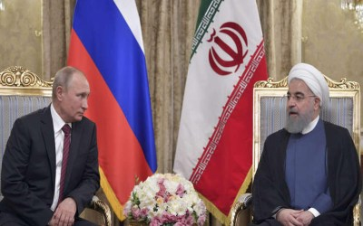 روحاني يدعو بوتين لعقد قمة دول مسار أستانا في إيران قريبا