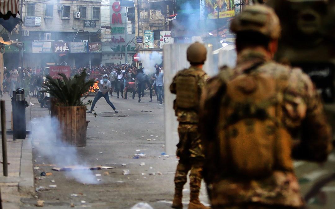 الجيش: اصابة 31 عسكريا وتوقيف 5 أشخاص في طرابلس