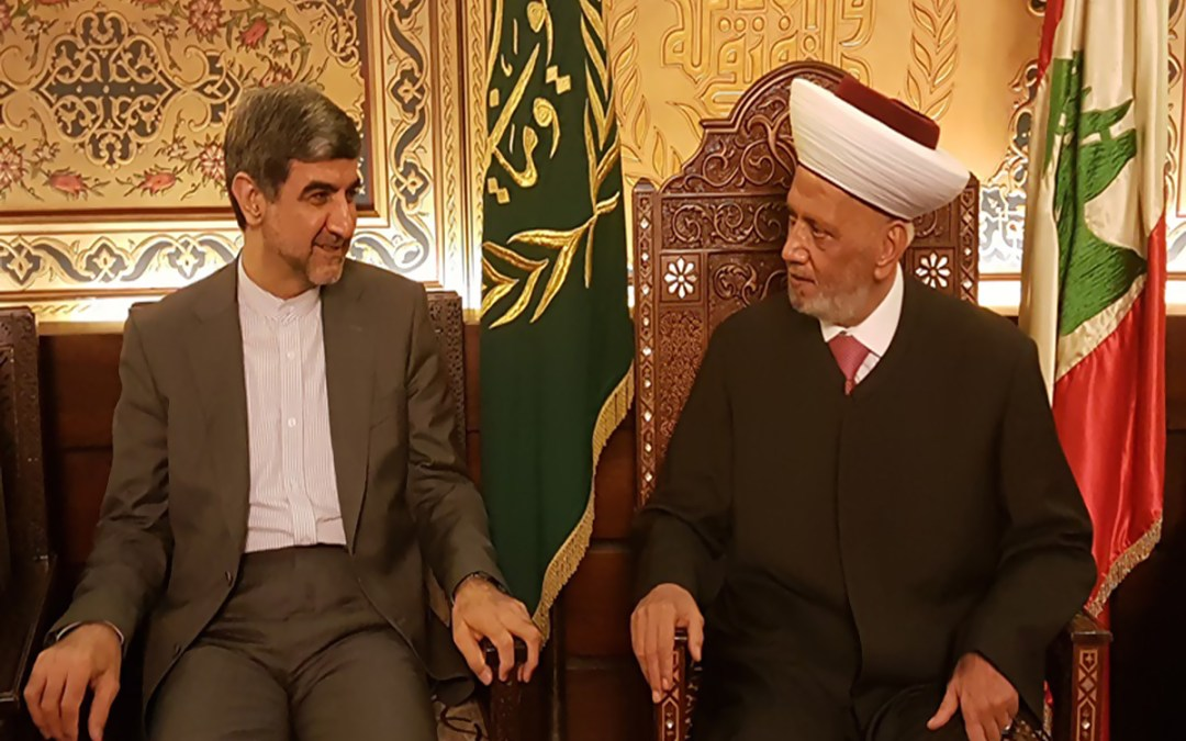 """السفير الإيراني: اذا إرتكبت """"اسرائيل"""" أي مغامرة ضد لبنان سيكون هناك ضربة قاسية في إنتظارها"""