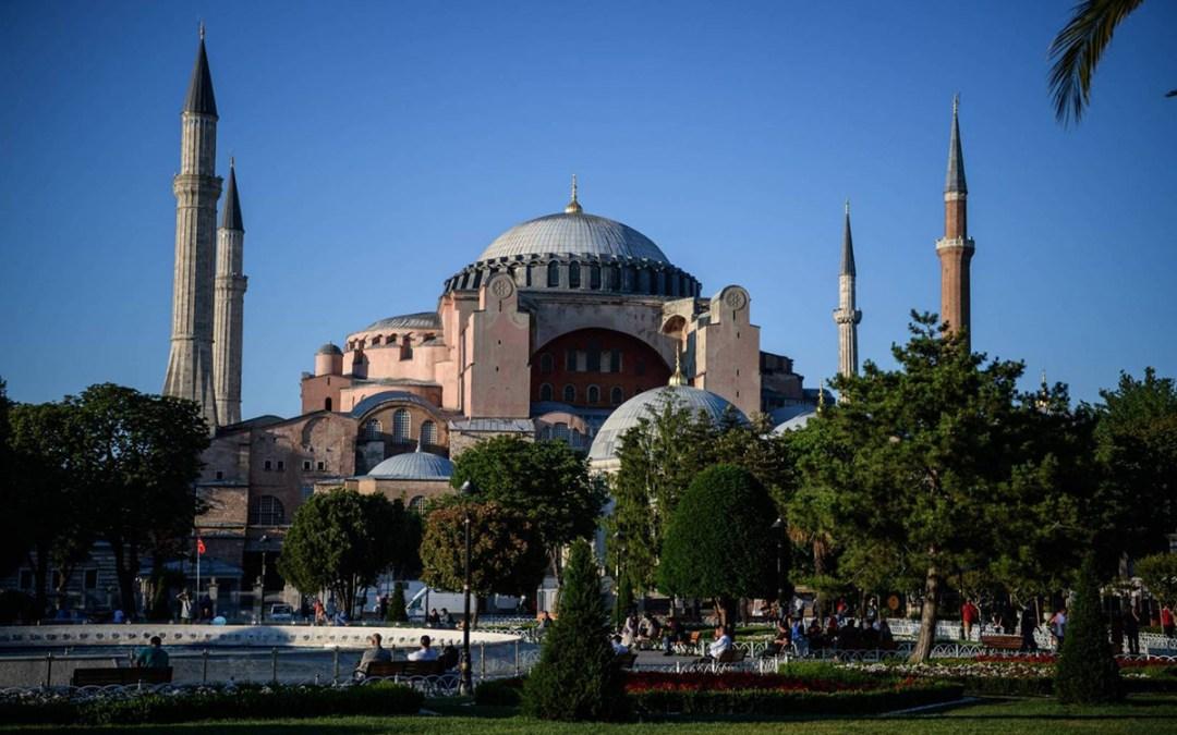 سلطات اليونان تعلن حداد وطني اليوم تزامناً مع افتتاح آيا صوفيا كمسجد