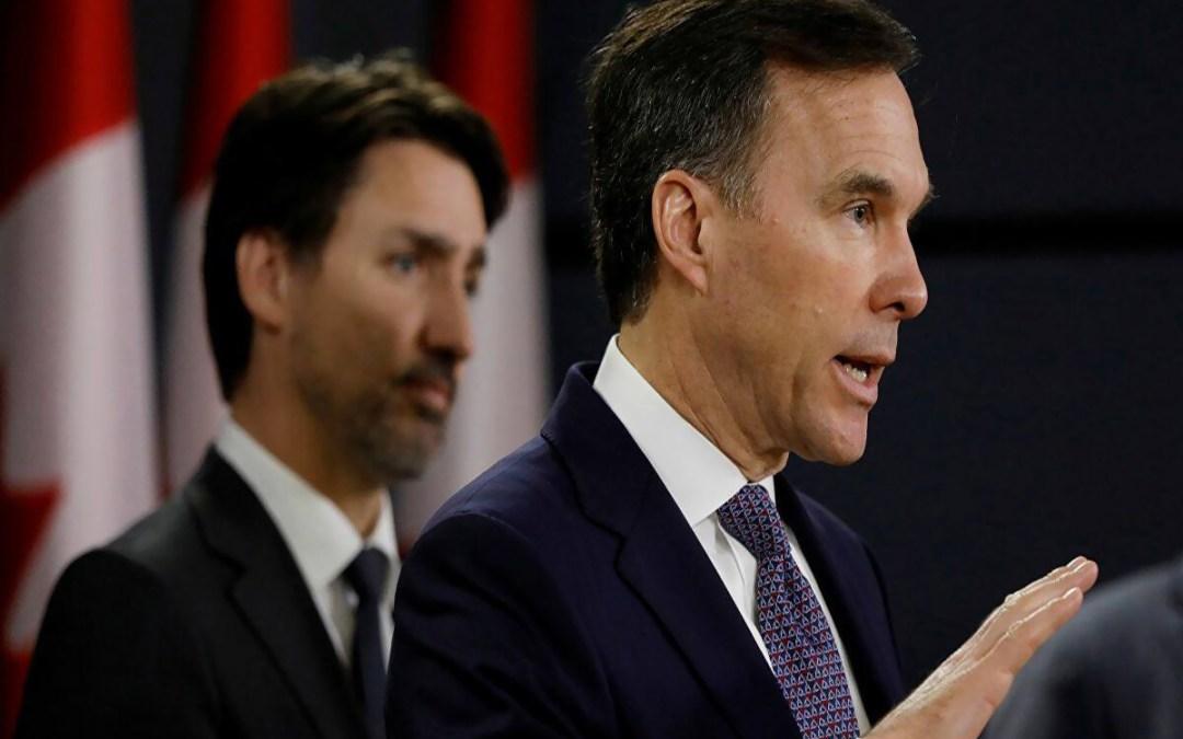 وزير المال الكندي اعلن استقالته