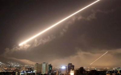 """""""سانا"""": دفاعاتنا الجوية تصدت لعدوان إسرائيلي في محيط دمشق"""