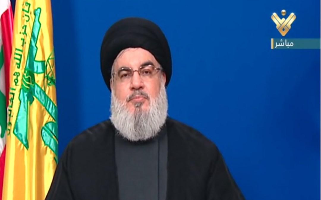 نصر الله يتحدث غدا في احتفال تجمع العلماءالمسلمين